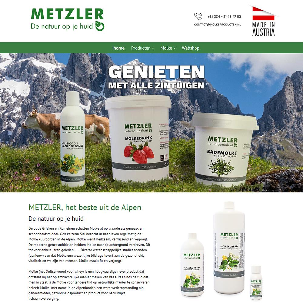 metzler naturhautnah neue Website für Holland