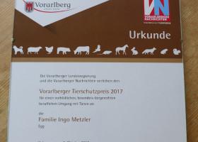 Tierschutzpreis 2017