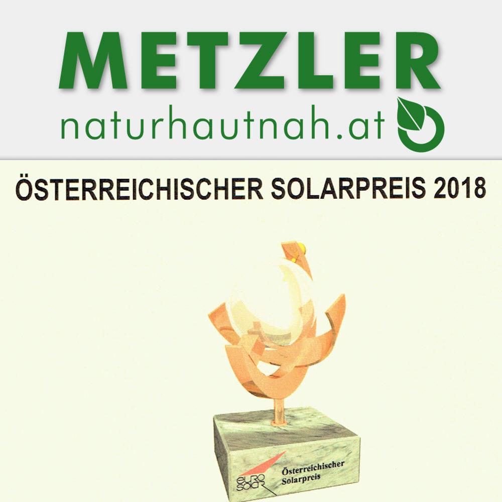 Gewinner Österreichischer Solarpreis 2018